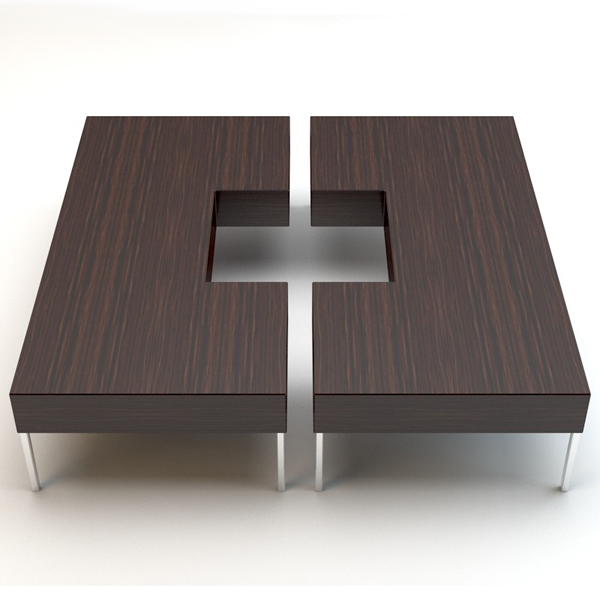 homefrenzy products - contemporary furniture, modern furniture, coffee tables, dining tables :  homefrenzy t colzani coffee table puzzle