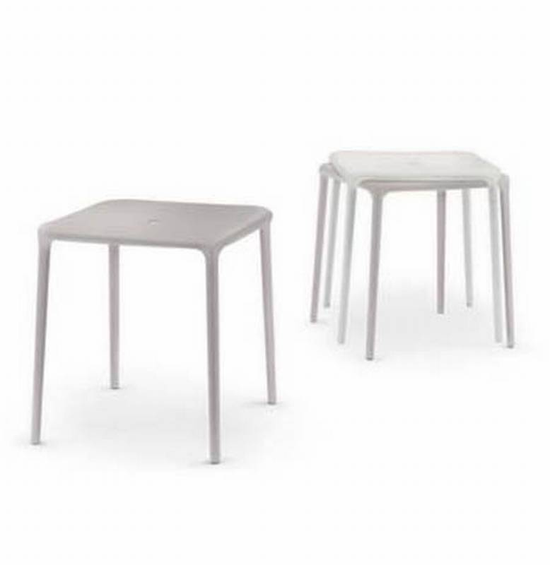 Air Table Square from Magis designed by Jasper Morrison.