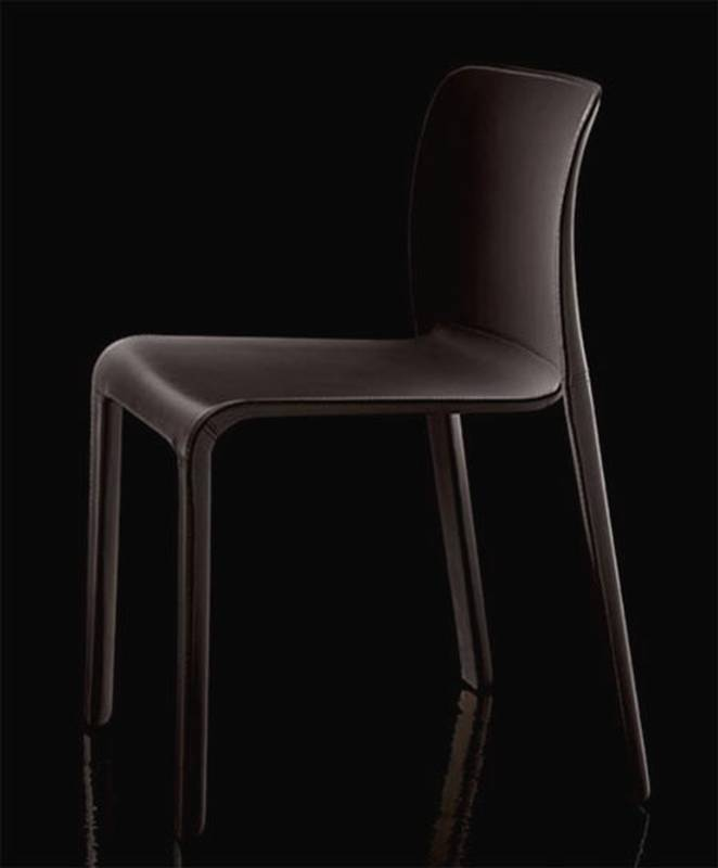 Chair First in Leather from Magis designed by Stefano Giovannoni.