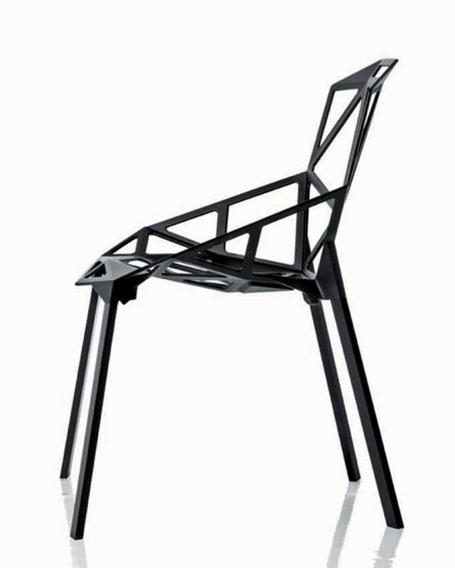 Chair One from Magis designed by Konstantin Grcic.