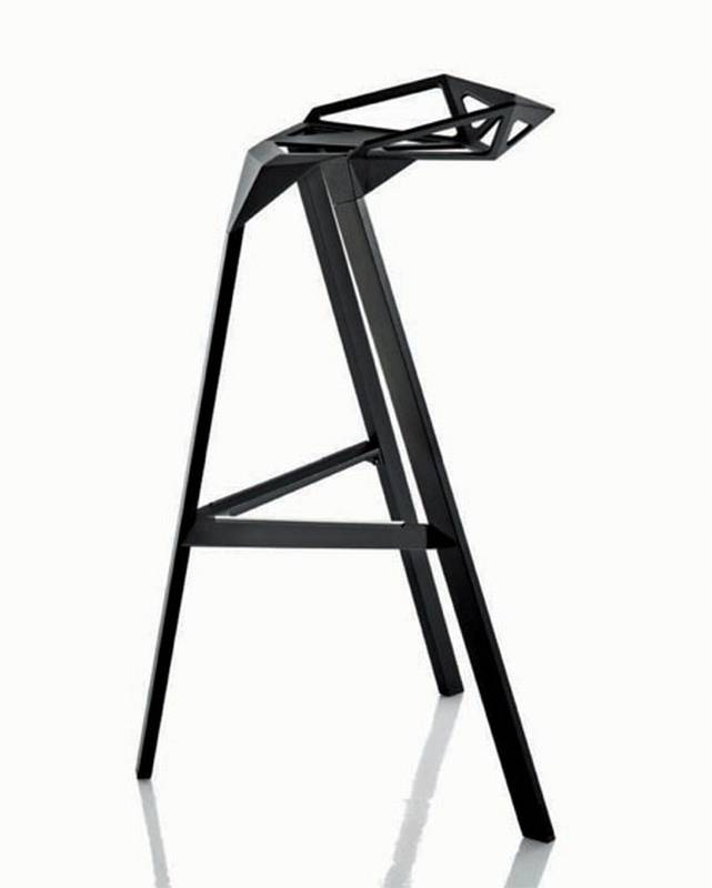 Stool One from Magis designed by Konstantin Grcic.