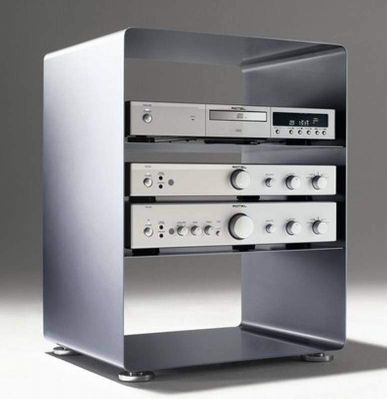 Mobile Line Stereo Cabinet from Muller.