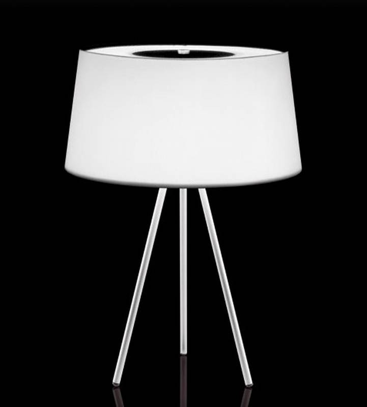 Tripod Table from Kundalini designed by Christophe Pillet.