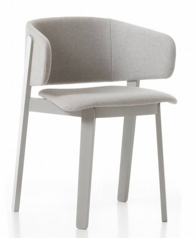 Wolfgang Armchair WOR202 from Fornasarig.