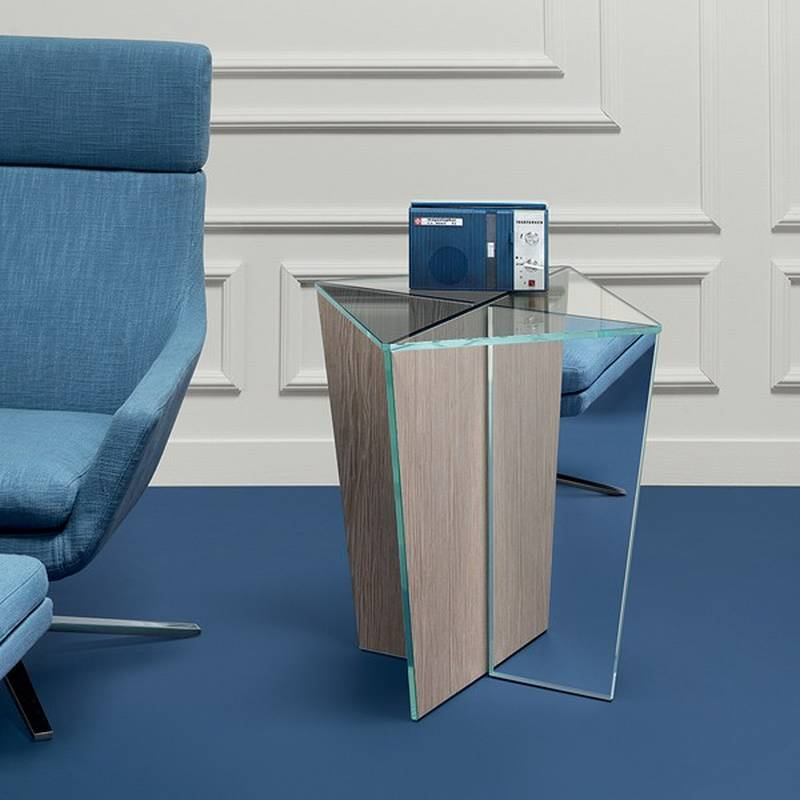 Mirage Side Table from Tonelli.