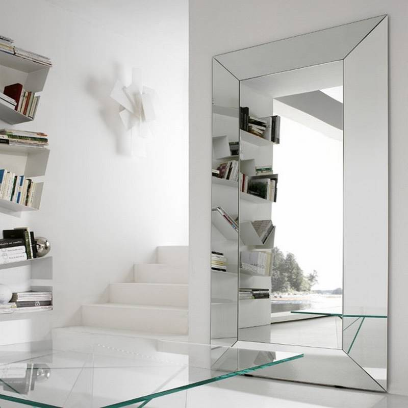 Italcomma diamante big mirrors living room bedroom for Large bedroom mirror