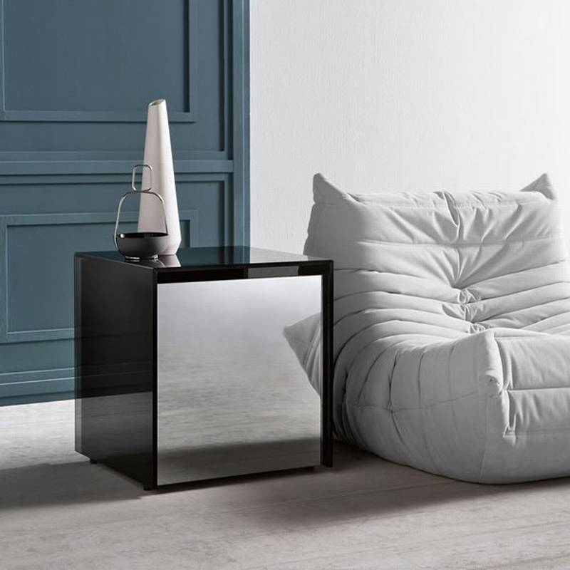 tonelli gotham side table end tables glass living