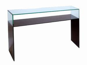 Greenapple chic noir console console table sofa table - Table console noire ...