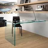 Rialto L Wall Mounted Desks by Fiam