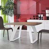 Brenta 8057 Fixed Dining Tables by Tonin Casa